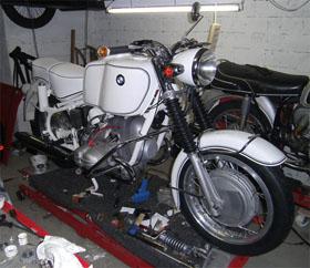 BMW R69SS de 1967