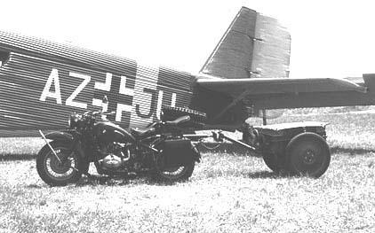 BMW R 75  Ju-52 2