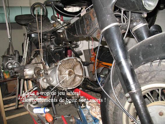 BMW R 75 Wh boite
