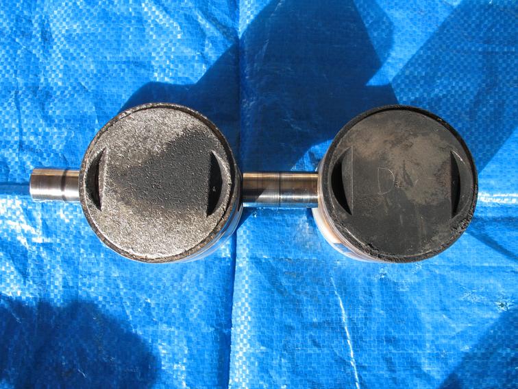BMW R 75 paire pistons