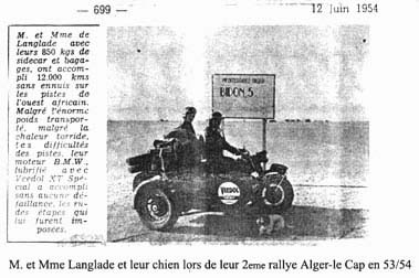 BMW r75 Wh Langlade-et-Mme