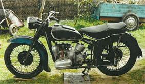 BMW R66 de 1940