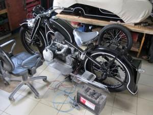 BMW R12 test electrique