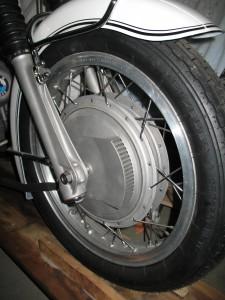 BMW R69SS frein gauche