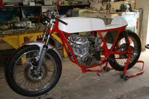 Honda 550 four chassis monte