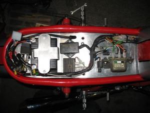 Honda 550 four partie elec