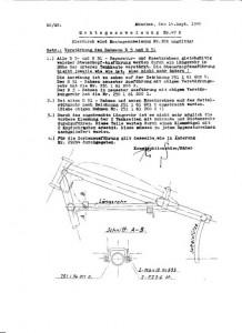 La notice explicative de BMW concernant les modifications du cadre (renforts)
