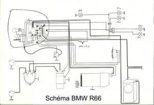 BMW R66 schema