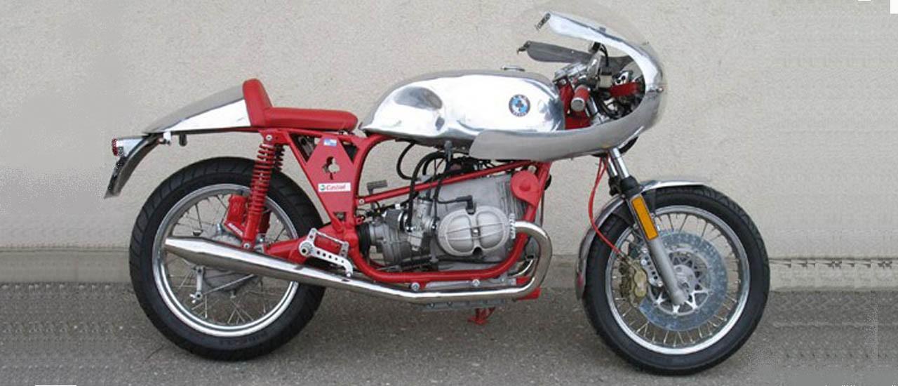 Café-Racer sur base R100RS  1100cc (kit Siebenrock)